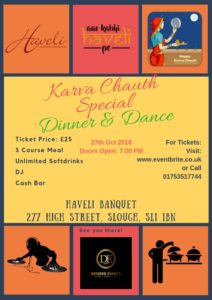 Karma Chauth Special Dinner and Dance